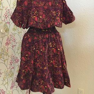 Dresses - Short print dress